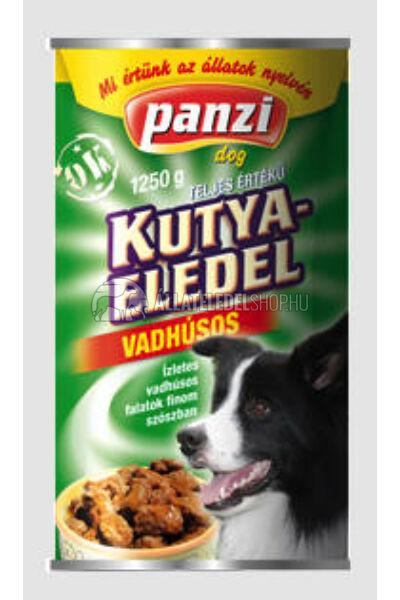 Panzi - Dog Regular Vad kutyakonzerv 1240g