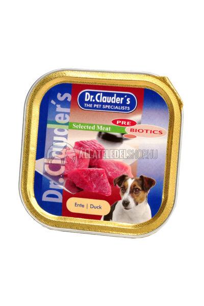 Dr. Clauder'S - Selected Meat Kacsás alutasakos kutyáknak 100g