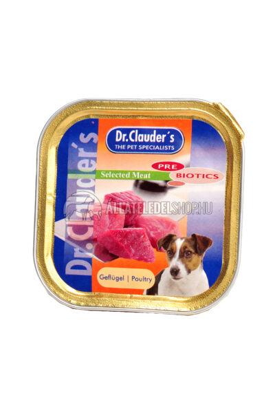 Dr. Clauder'S - Selected Meat Szárnyas alutasakos kutyáknak 100g