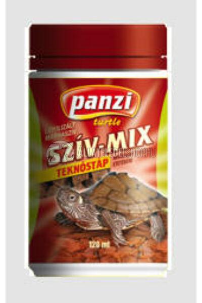 Panzi Szíz-Mix liofilizált marhaszív teknősöknek 135ml