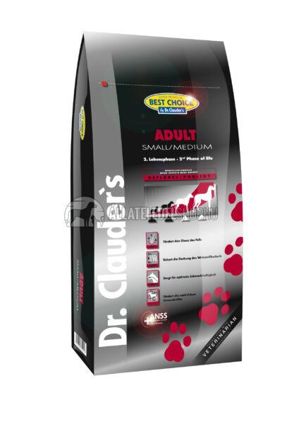 Dr. Clauder'S - Best Choice Adult Small & Medium Szárnyas húsos kutyatáp 12,5Kg
