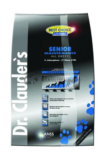 Dr. Clauder'S - Best Choice All Breed Senior Maintenance Szárnyas húsos kutyatáp 4Kg