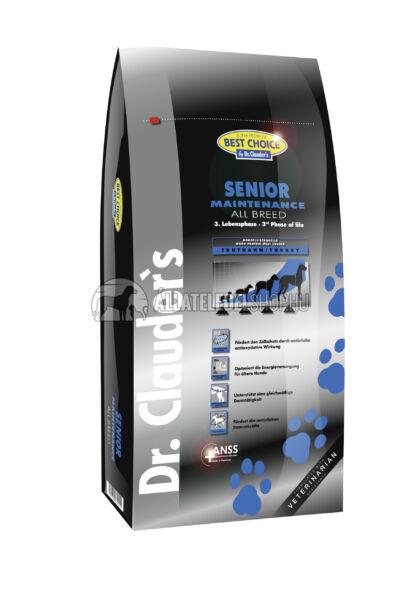 Dr. Clauder'S - Best Choice All Breed Senior Maintenance Szárnyas húsos kutyatáp 12,5Kg