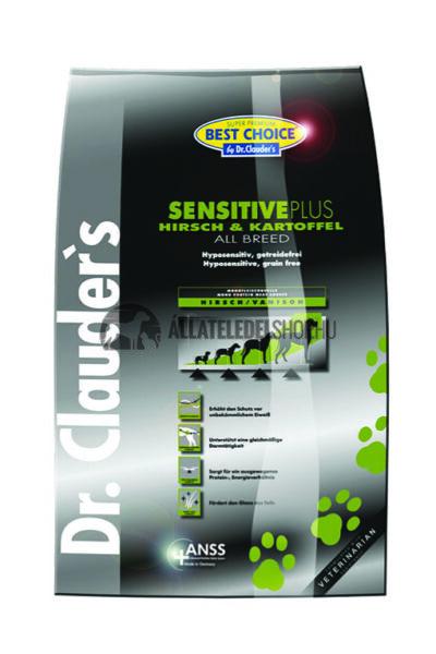 Dr. Clauder'S - Best Choice All Breed Szarvas & Burgonya gabonamentes és hypoallergén kutyatáp  4Kg