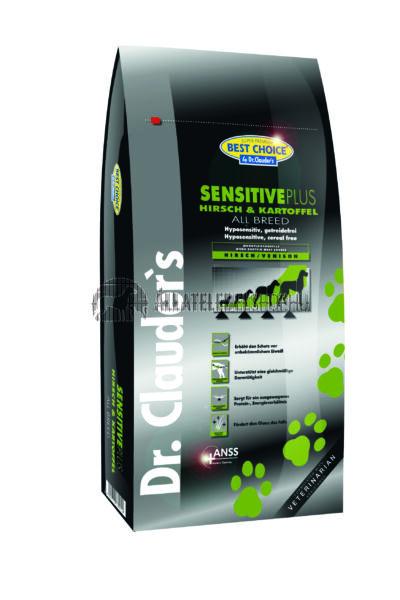 Dr. Clauder'S - Best Choice All Breed Szarvas & Burgonya gabonamentes és hypoallergén kutyatáp  12,5Kg