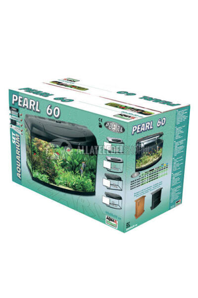 Akvárium szett - Aquael Szett Pearl 60 54L