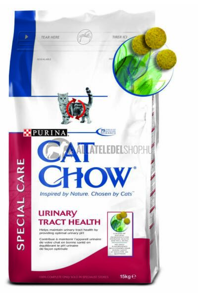 Cat Chow macskaeledel - Adult Urinary Tract Healthy macskatáp 15kg