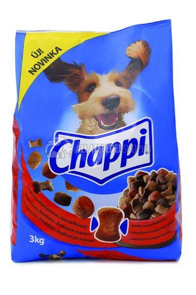 Chappi -  Marha - Baromfi kutyatáp 3kg