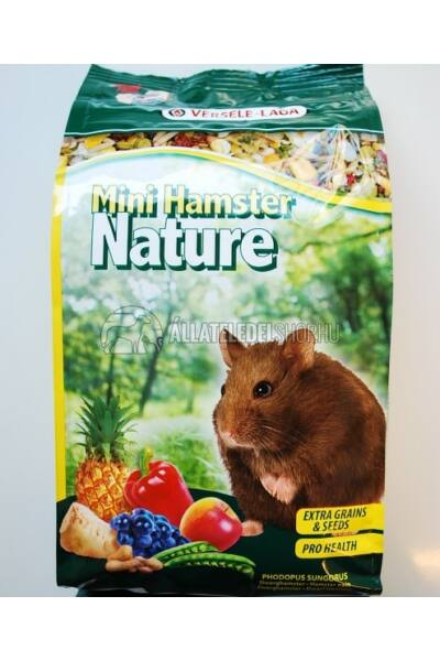 Versele-Laga - Nature Mini Hamster - Keverék Törpehörcsögnek 400g