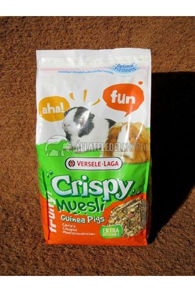 Versele-Laga - Crispy Muesli Guinea Pigs - Keverék Tengerimalacoknak 1Kg