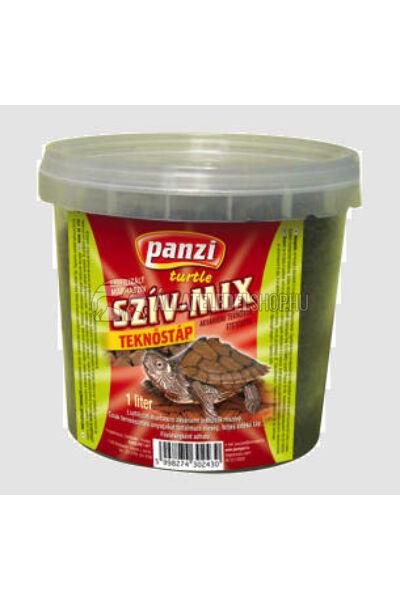 Panzi Szíz-Mix liofilizált marhaszív teknősöknek 1L