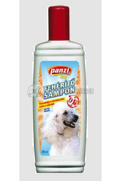Panzi - Dog Sampon fehéritő 200ml