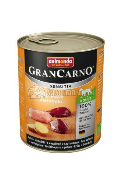 Animonda - Grancarno Sensitiv Pulyka & Burgonya kutyakonzerv 800g