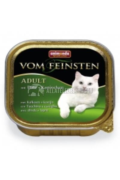 Animonda macskaeledel - Vom Feinsten Adult Pulya & Nyúl alutasakos macskáknak 100g
