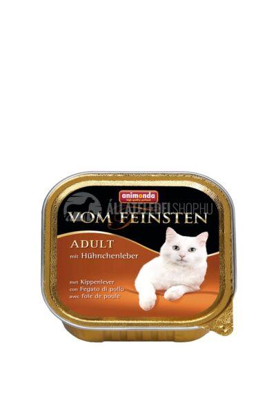 Animonda macskaeledel - Vom Feinsten Adult Csirkemáj alutasakos macskáknak 100g