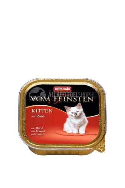 Animonda macskaeledel - Vom Feinsten Kitten Marhahússal alutasakos macskáknak 100g