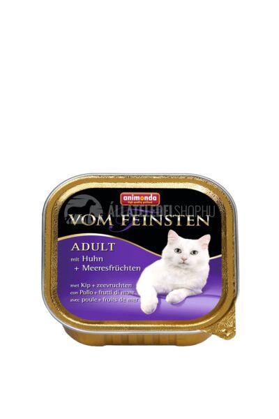 Animonda - Vom Feinsten Adult Csirke & Tenger Gyümölcse alutasakos macskáknak 100g