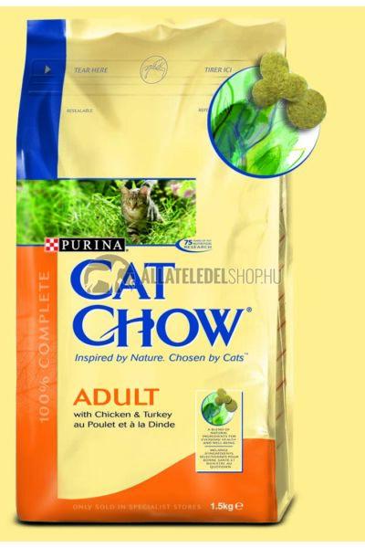 Cat Chow - Adult Pulyka & Csirke macskatáp 1,5kg