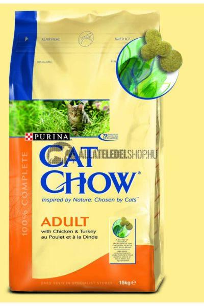 Cat Chow - Adult Pulyka & Csirke macskatáp 15kg