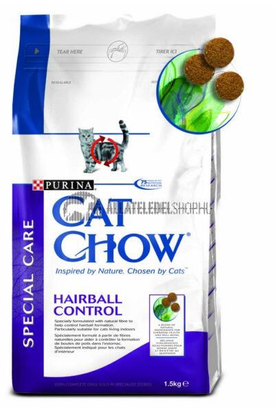 Cat Chow macskaeledel - Adult Hairball Control macskatáp 1,5kg