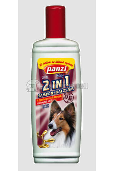 Panzi - Dog Sampon 2in1 200ml