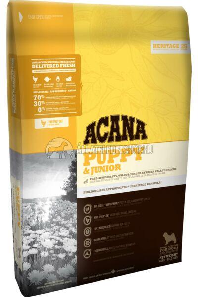 Acana - Puppy & Junior Csirke - Tojás - Hal gabonamentes kutyatáp 11,4kg