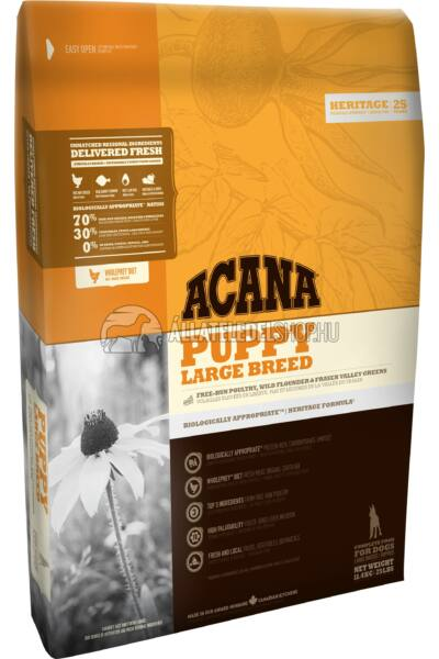 Kutyatáp - Acana Puppy Large Breed Chicken Egg Fish 11KG