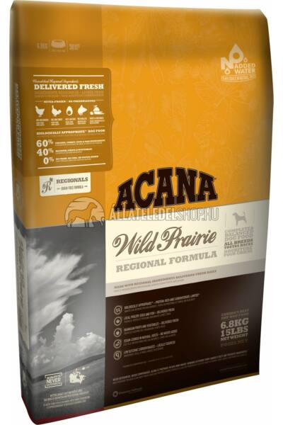 Acana - Wild Prairie Csirke - Tojás - Hal gabonamentes kutyatáp 13kg
