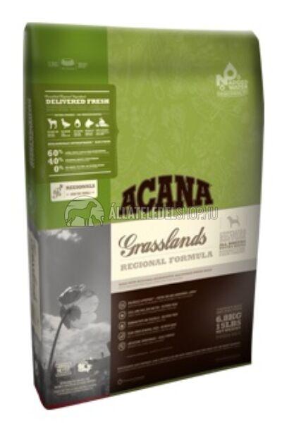 Acana - Grasslands Bárány - Kacsa - Tojás - Hal gabonamentes kutyatáp 13kg