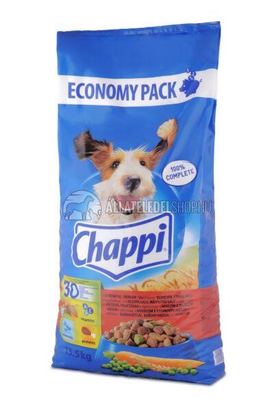 Chappi -  Marha - Baromfi kutyatáp 13,5kg