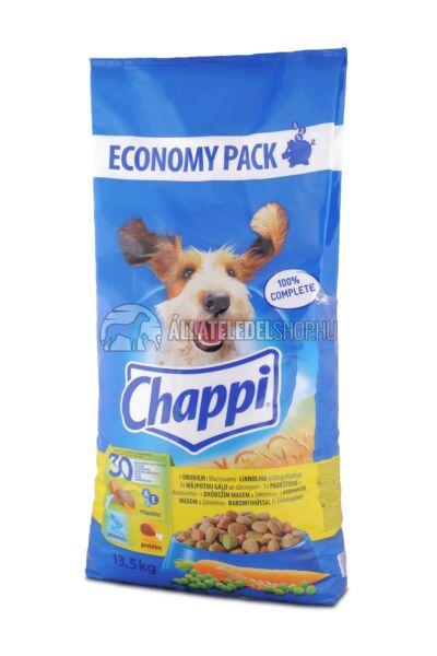 Chappi -  Baromfi - Zöldség kutyatáp 13,5kg