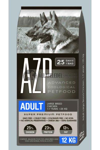 AZP - Adult Large Breed Csirke húsos. kutyatáp 12Kg