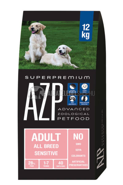 AZP - Adult All Breed Sensitive. hypoallergén kutyatáp 12Kg