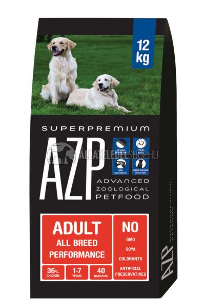 AZP - Adult All Breed Performance. kutyatáp 12Kg