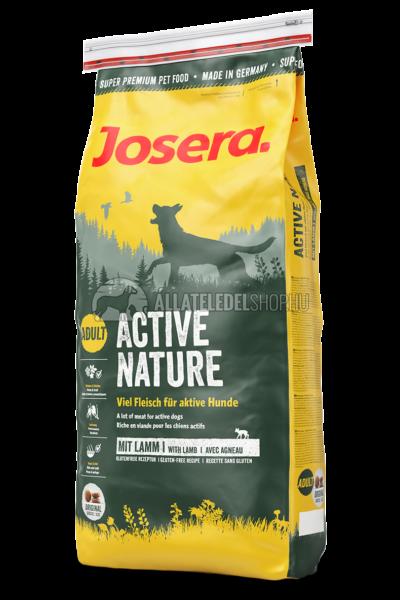 Josera - Adult Active Nature - Csirke és Bárány gabonamentes kutyatáp 15kg