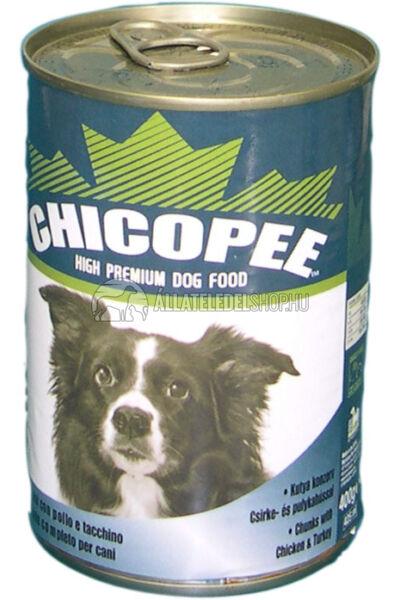 Chicopee - Szárnyas kutyakonzerv 400g