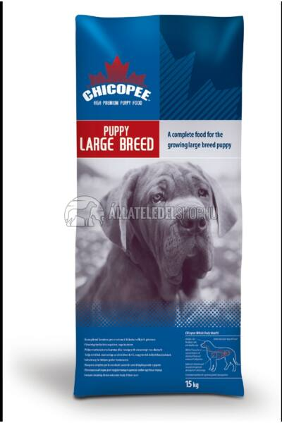 Chicopee - Puppy Large Breed  kutyatáp 15Kg