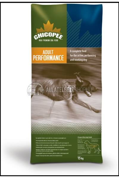 Chicopee - Adult Performance kutyatáp 20kg