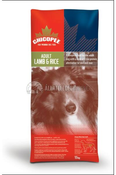 Chicopee - Adult Bárány & Rizs kutyatáp 15+2kg