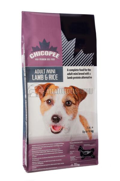 Chicopee - Adult Mini Bárány & Rizs kutyatáp 2kg