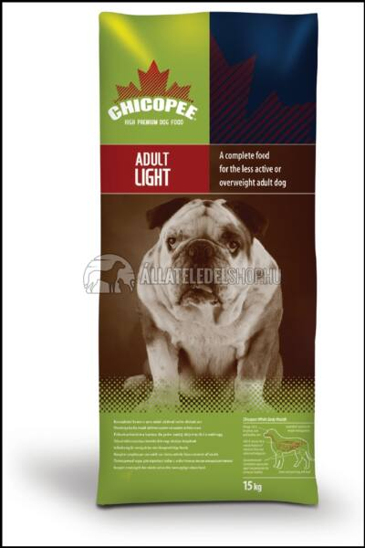 Chicopee - Adult Light kutyatáp 2kg