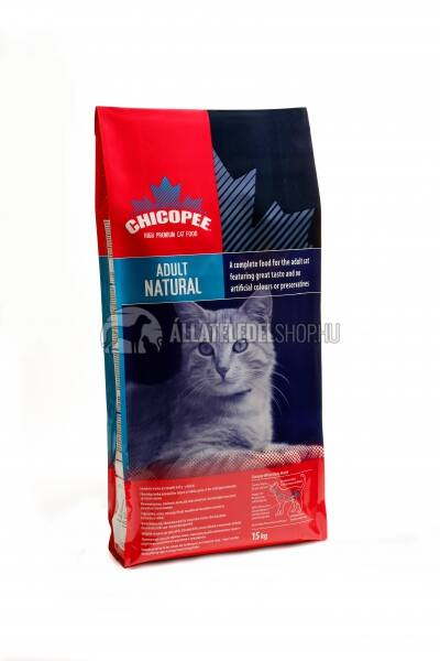Chicopee Cat - Adult Natural macskatáp 2kg