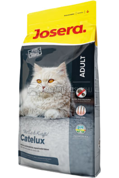 Josera macskaeledel - Catelux hosszúszőrű felnőtt macskatáp 10kg