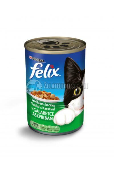 Felix macskaeledel - Nyúl és Kacsa macskakonzerv 400g