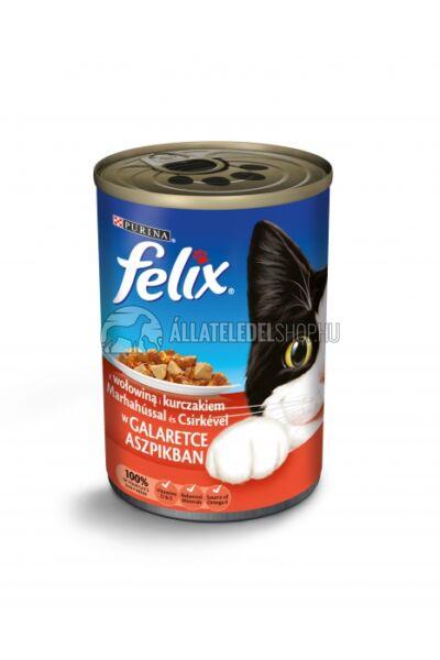 Felix macskaeledel - Marha És Csirke macskakonzerv 400g