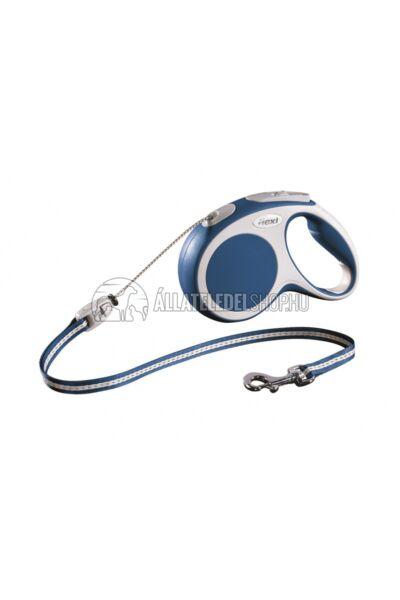 Flexi Vario M 5m Zsinóros Kék 20kg-Ig