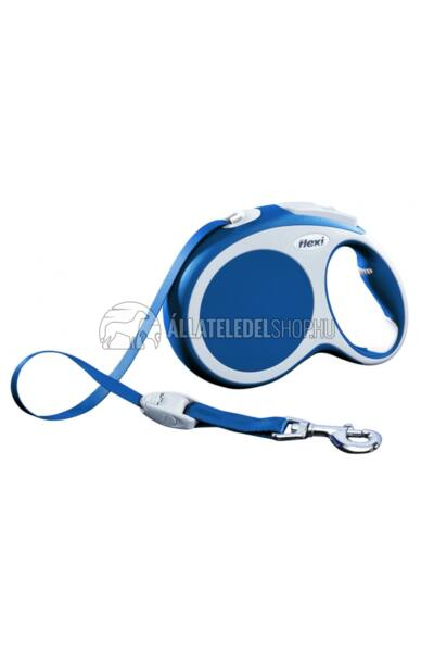 Flexi Vario L 5m Szalagos Kék 60kg-Ig