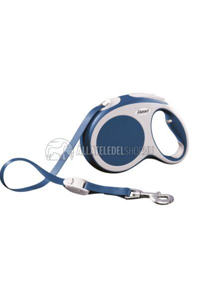 Flexi Vario L 8m Szalagos Kék 50kg-Ig
