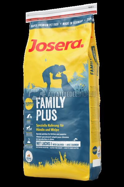 Josera - Puppy Family Plus - Csirke és Lazac gabonamentes kutyatáp 15kg