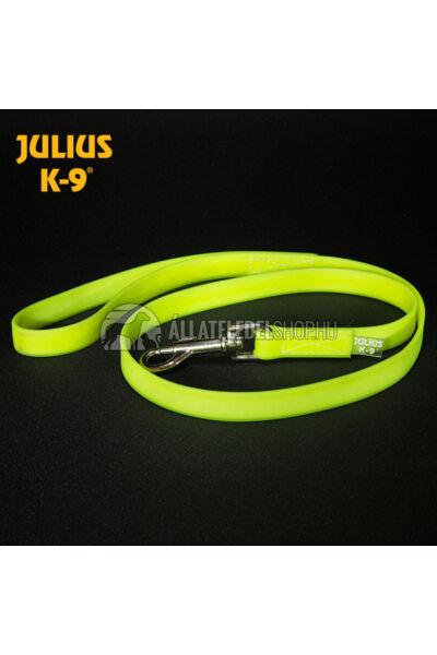Julius K-9  IDC® Lumino foszforeszkáló ikervezető póráz - 75 cm / 19 mm
